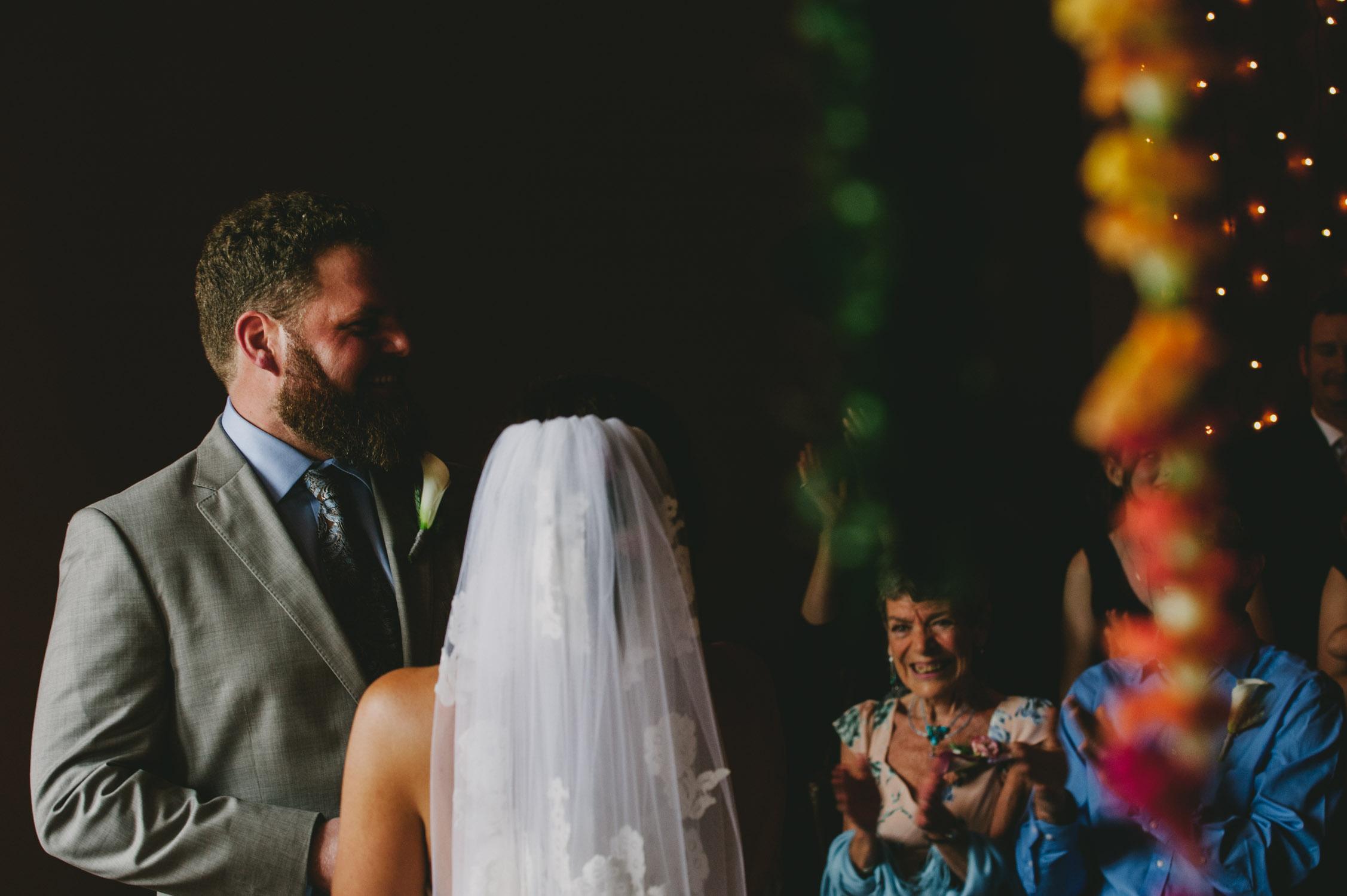 chapel hill wedding ceremony photo