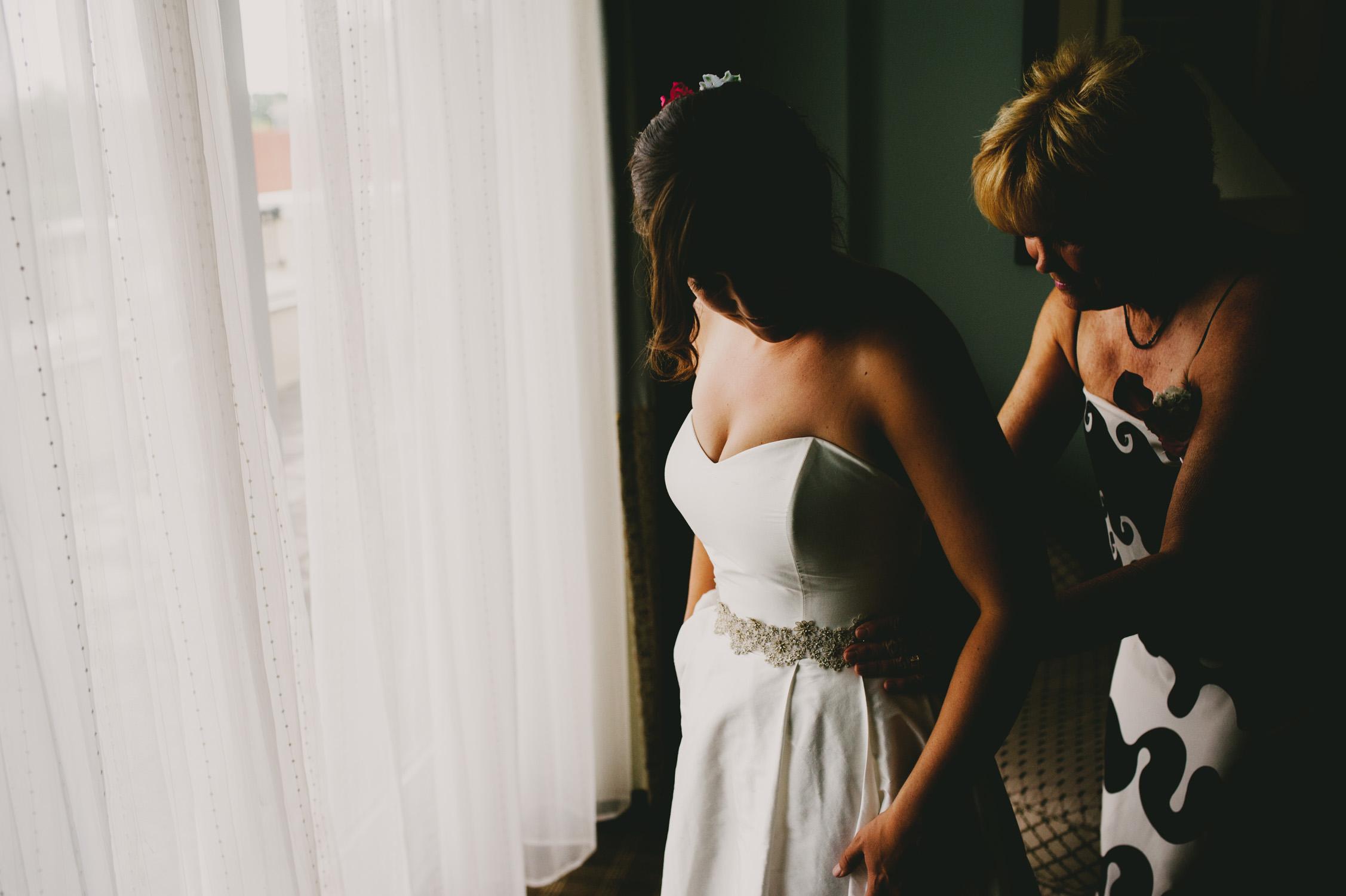 the franklin hotel wedding bride