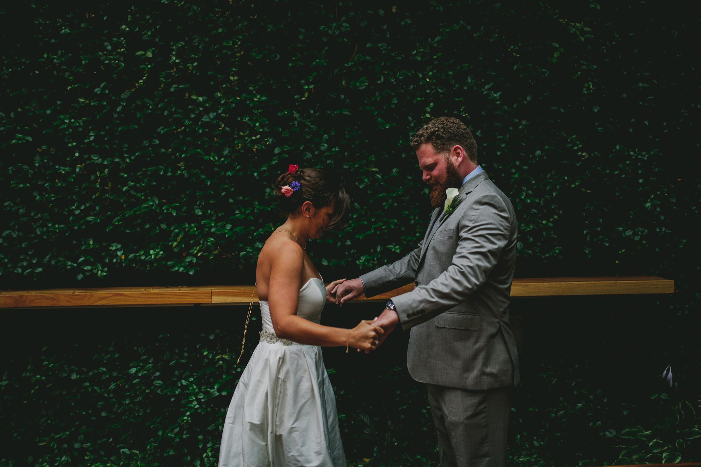 lantern wedding first look