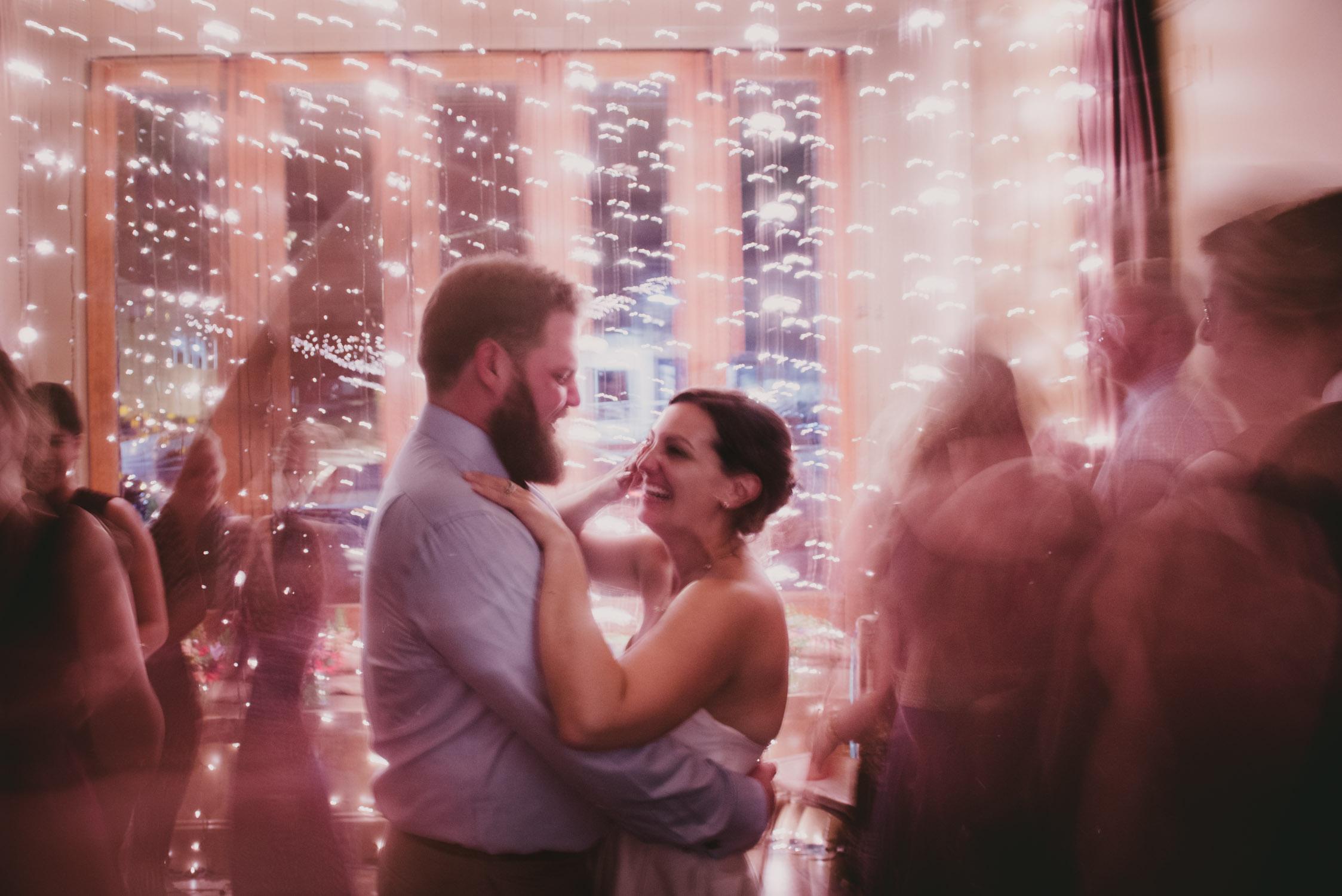 Crunkleton Wedding reception photo