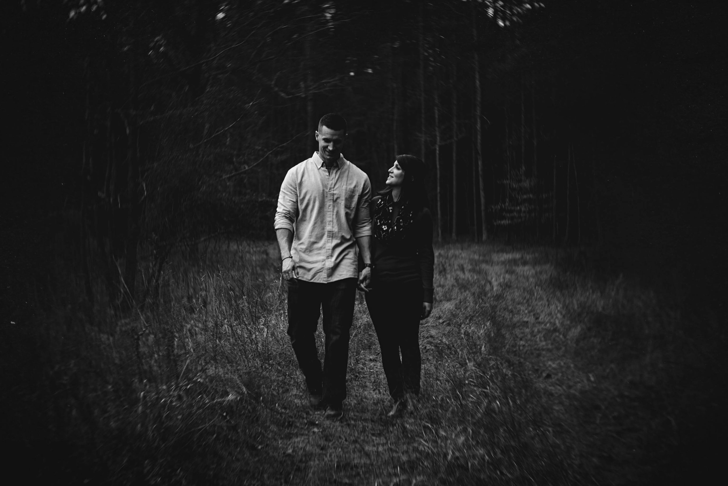 romantic Umstead engagement photos