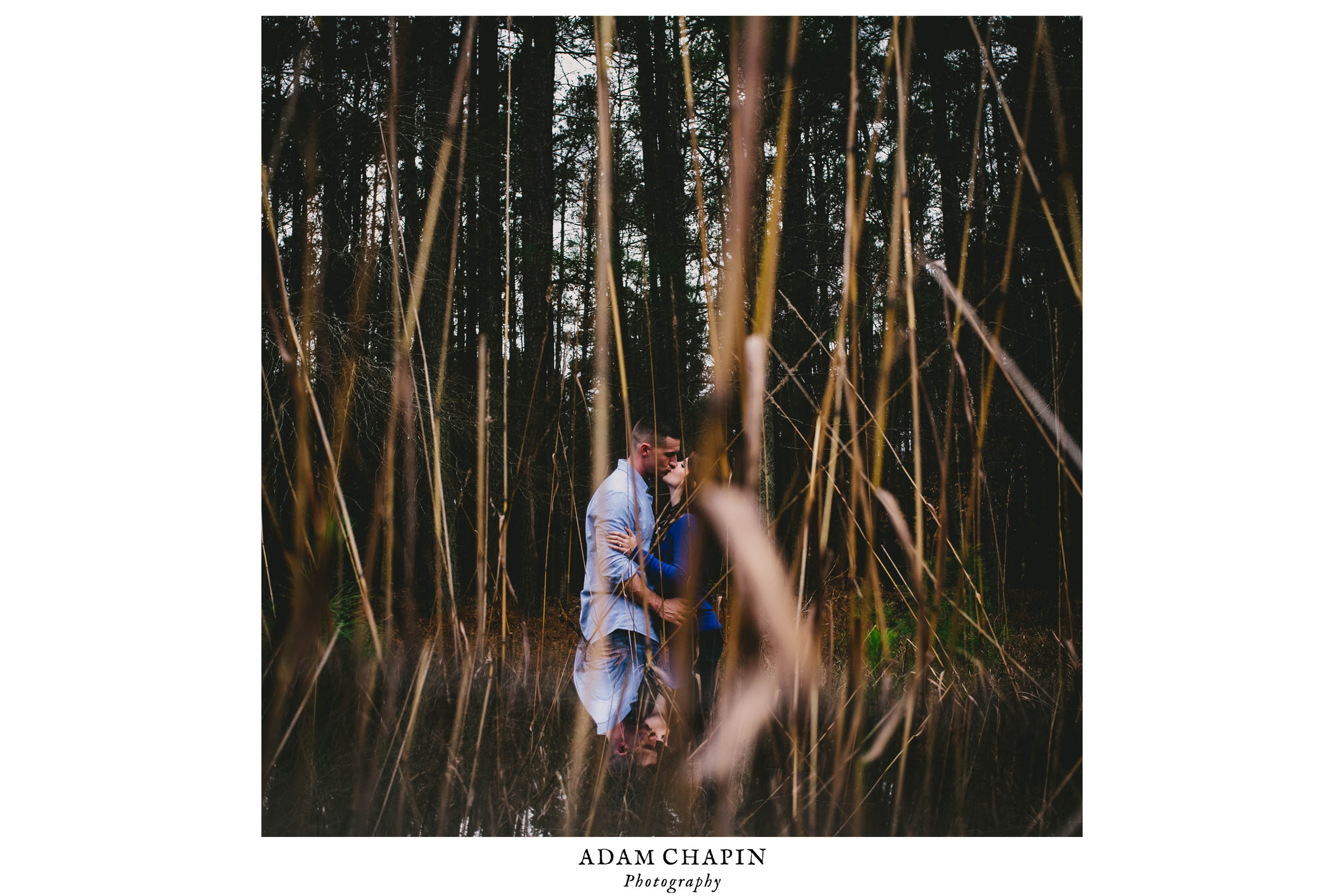 Umstead engagement photo