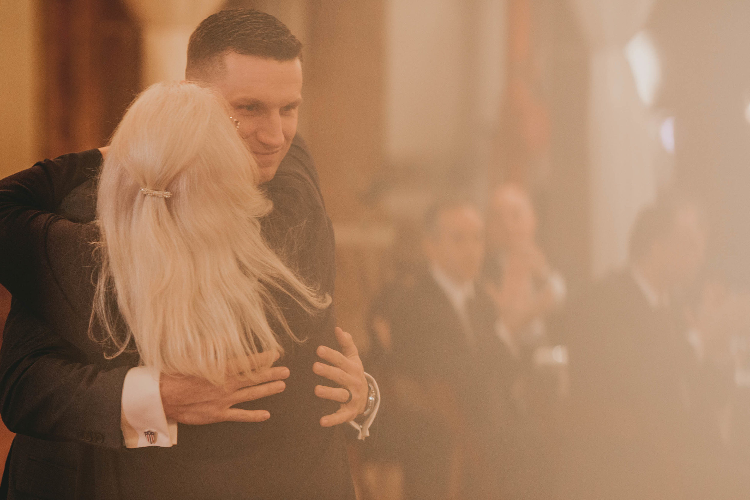 groom and mother of groom share a first dance