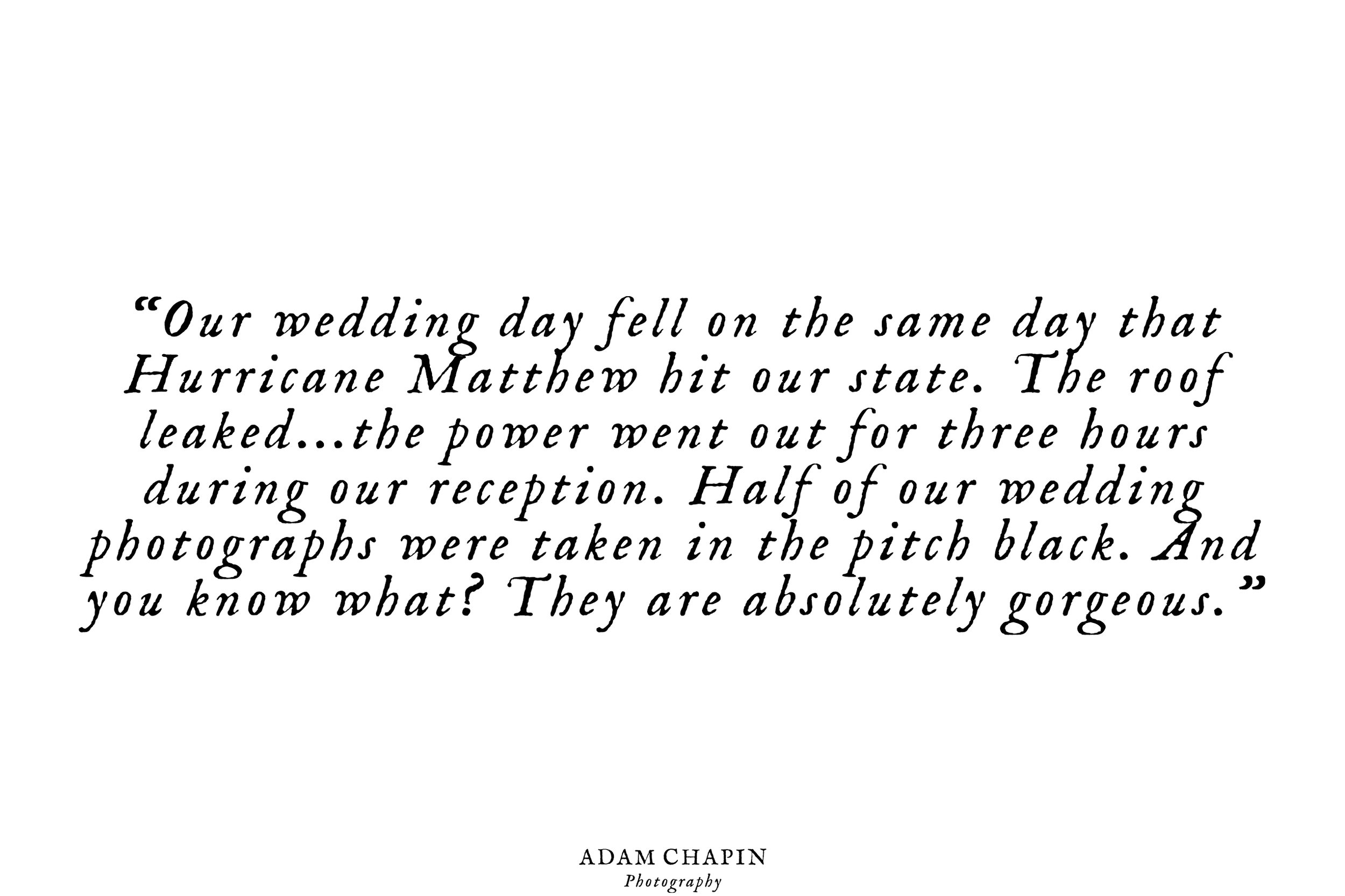Copy of raleigh north carolina wedding photographer adam chapin photography client reviews