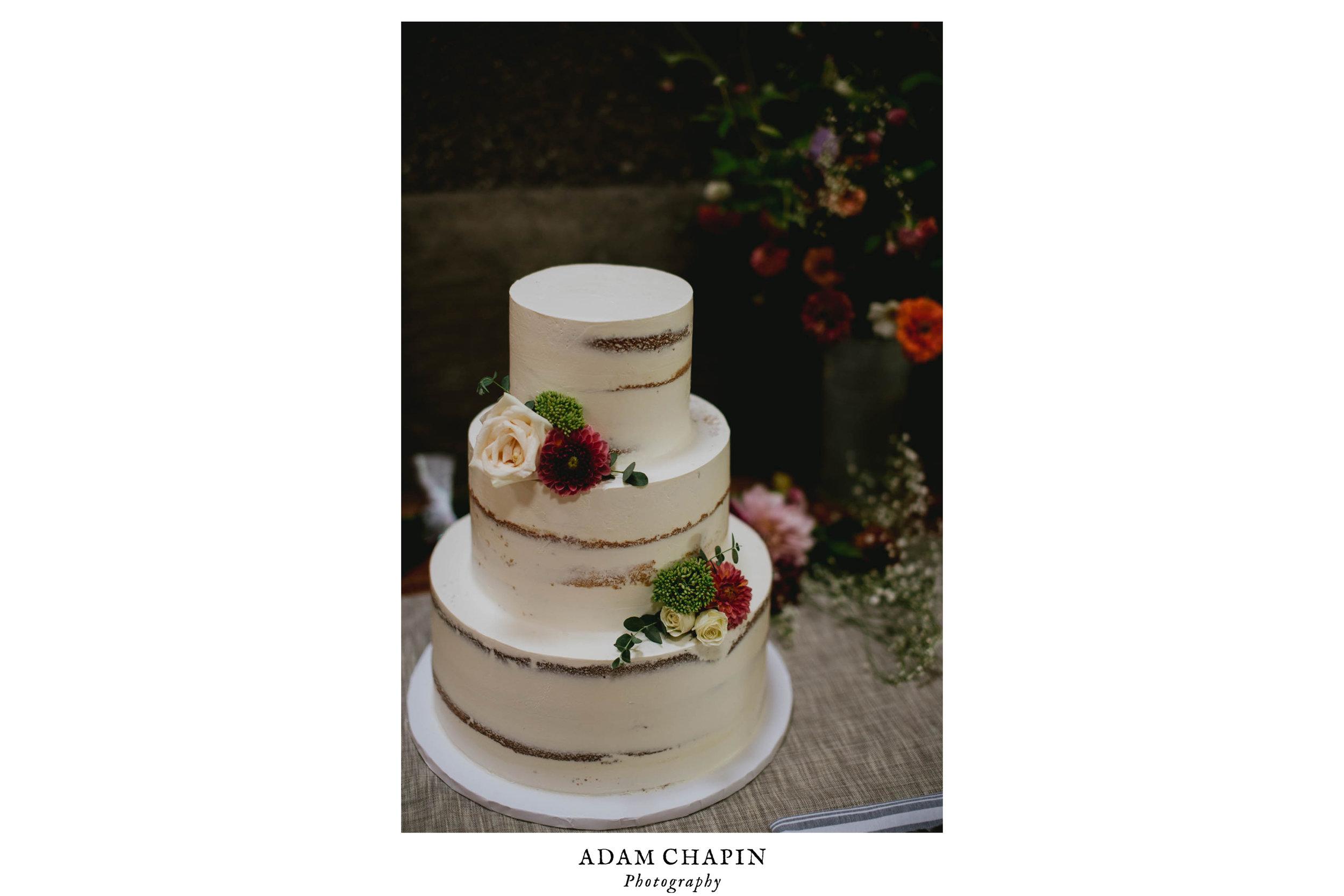 wedding cake made by rachel bailey