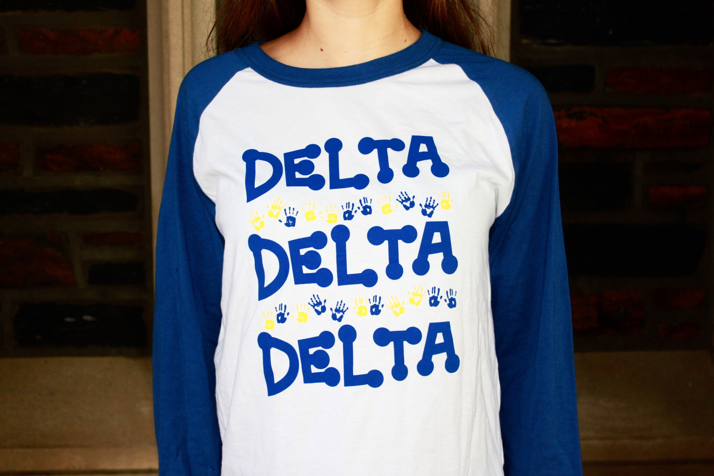 Color: Royal Blue/White/Yellow  *Next picture is the back of this shirt
