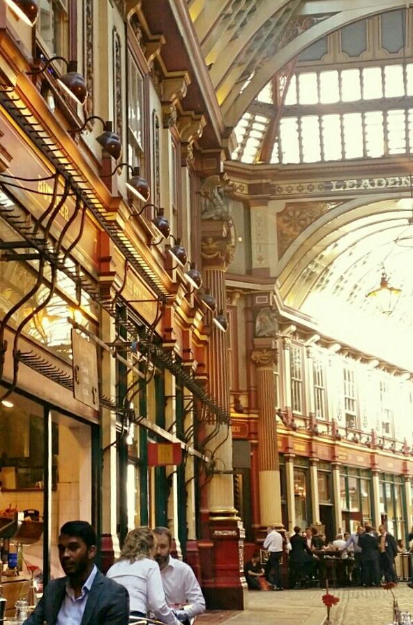 Leadenhall Market, London EC3 - international insurance hub