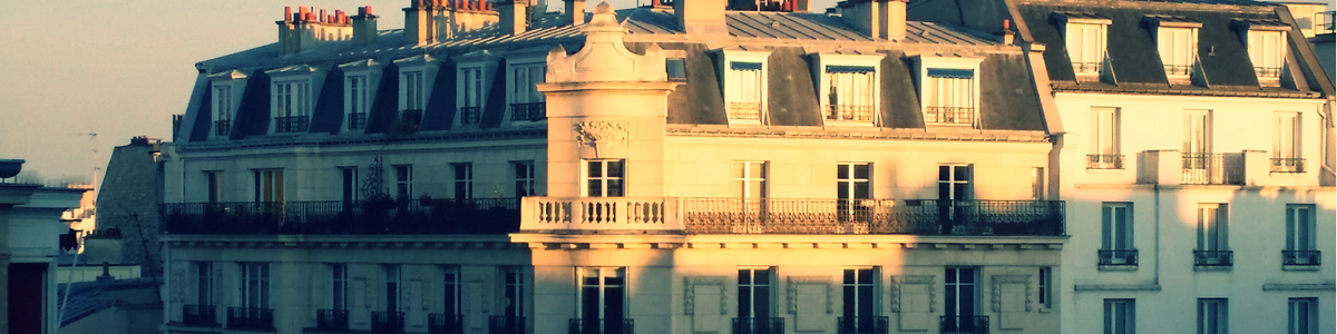 ...sipping Champagne in a Paris apartment...