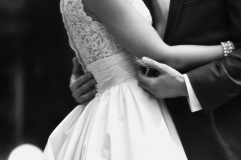 Elegant Wedding Photo
