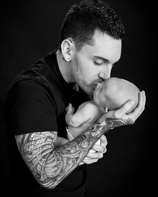 Dad and Baby Photo