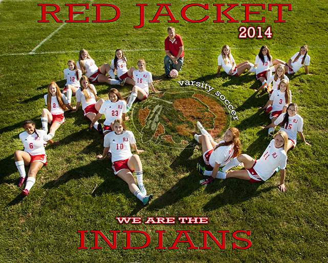 Red Jacket Soccer Photo