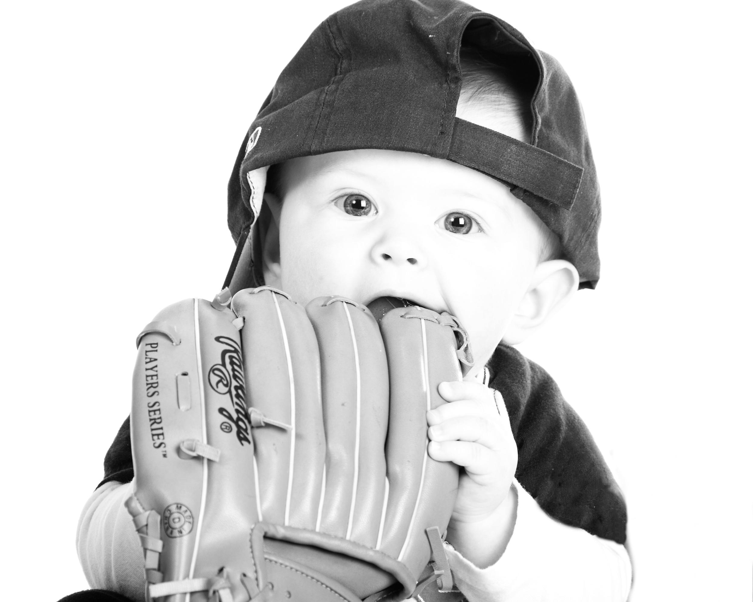 Baseball Baby Photo