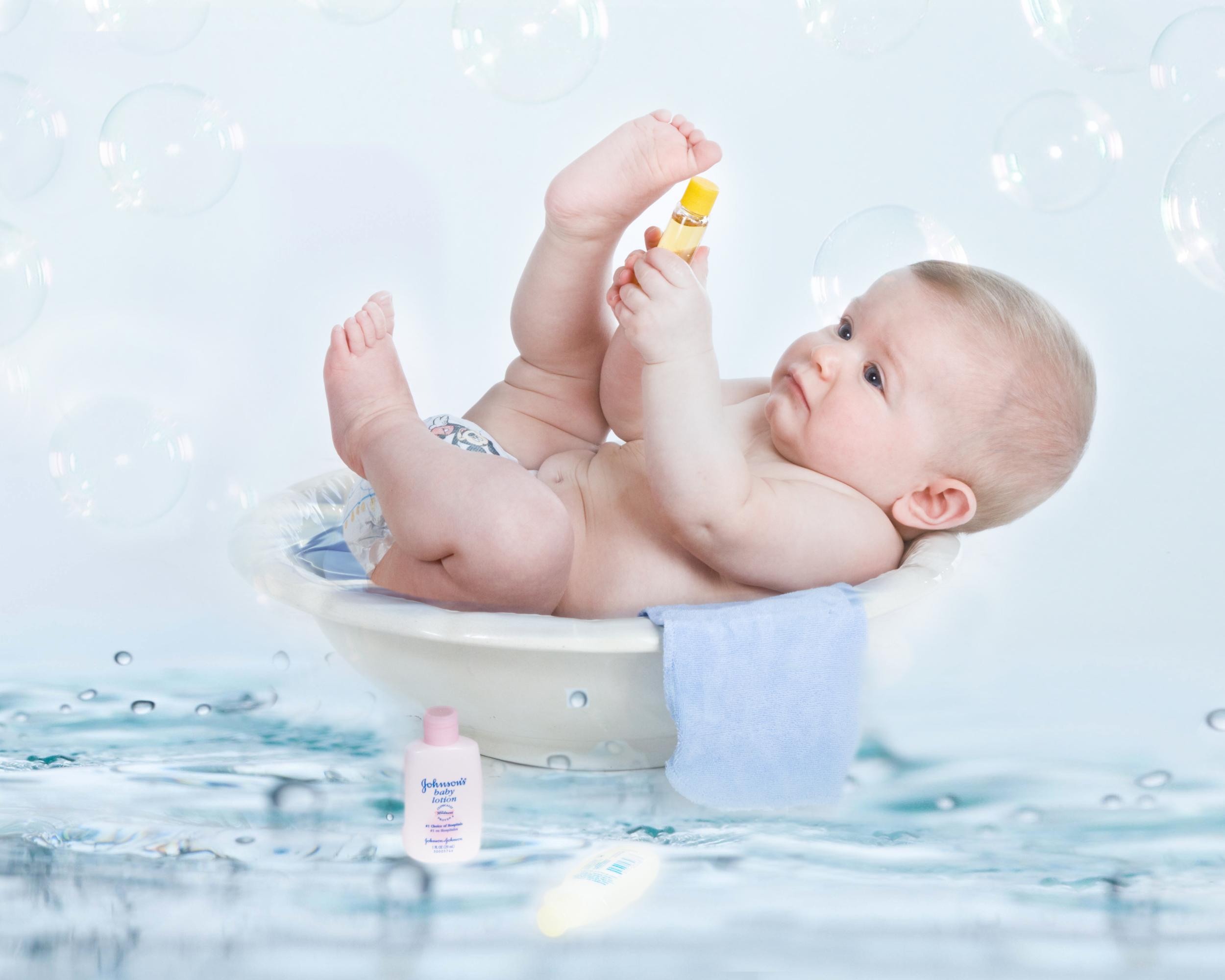 Baby Bath Photo