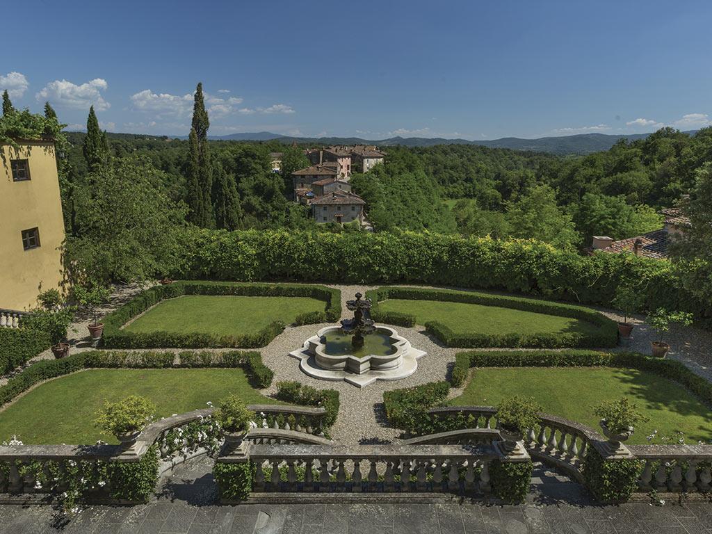 The Ferragamo family Il Borro estate
