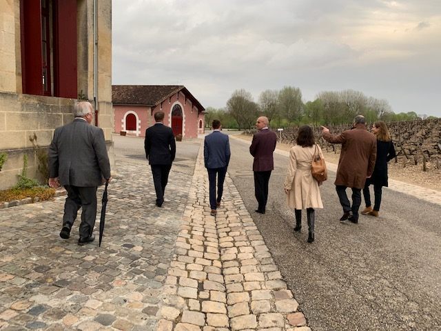 The team at Lafite-Rothschild, one of 2018's biggest stars