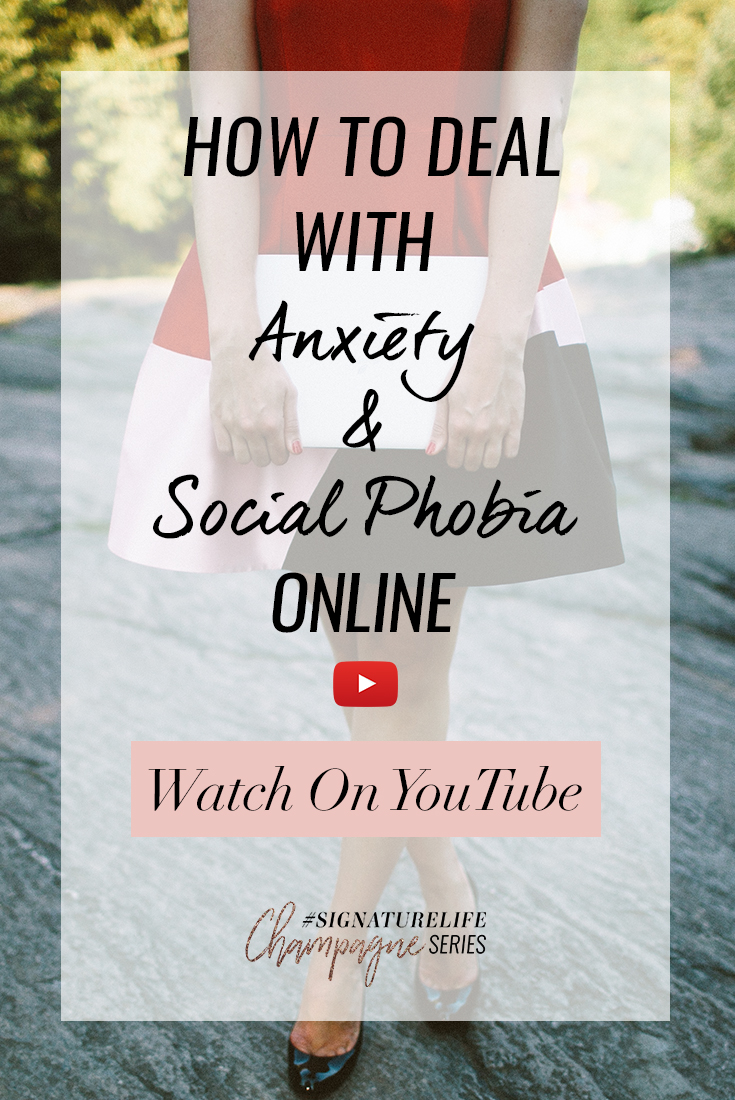Tune in as Daria shares all her best tips for dealing with the anxiety to go live and be seen online.