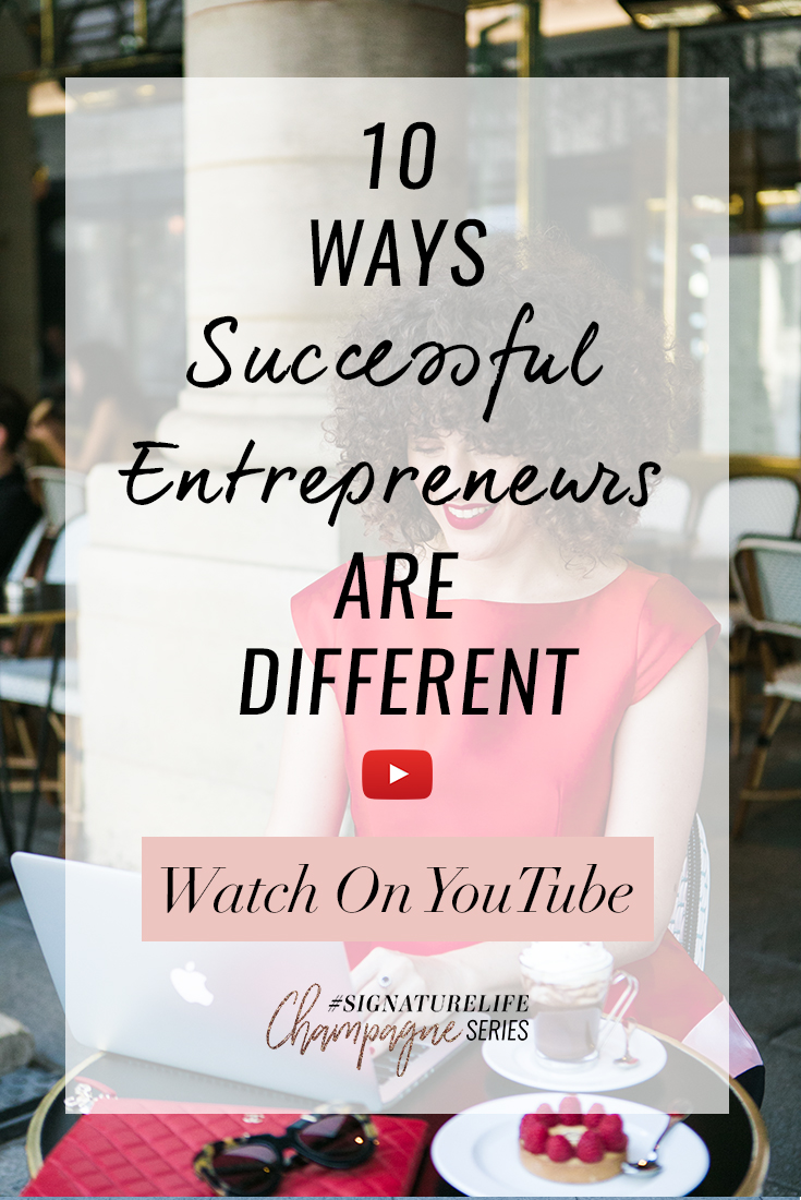 Tune in as Daria shares 10 (Other) Ways Entrepreneurs are Different, including: Why truly successful entrepreneurs need to leave their ego out of their work – and how to do it.