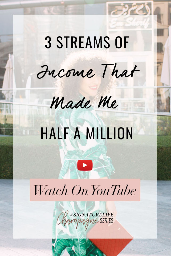 Tune in as Daria share 3 Streams Of Income That Made her Half A Million