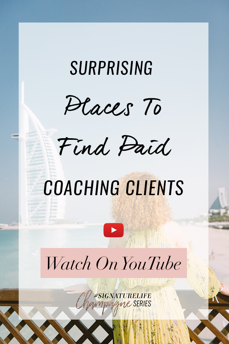 Surprising Places to Find Paid Coaching Clients -Pinterest Graphic.jpg