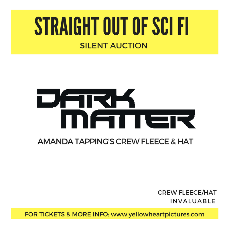 AMANDA TAPPING'S DARK MATTER'S FLEECE/HAT