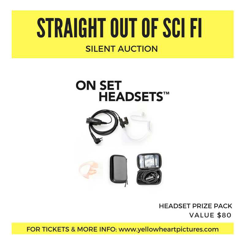 ON SET HEADSETS - Prize Pack