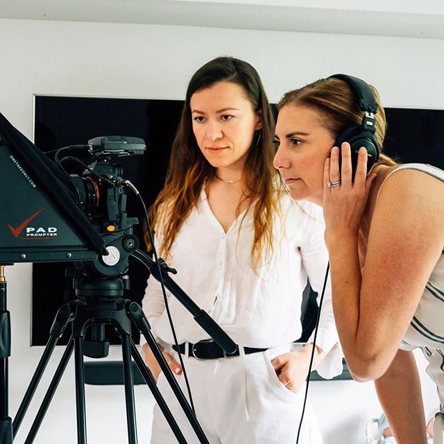 Happy #femalefilmmakerfriday everyone! Here's @kristarandgruen #director #producer checking out playback with @elenasarasom #directorofphotography 📷 @c.oneillphotography . . . . . #promovideo #corporatevideo #commercial #femaleteam #femaledirector #femaleproducer #femaledp #femaledop #womeninfilm #femalefriday #projectsleep #sleepconsultant #sleepcoach #sleepdeprivation