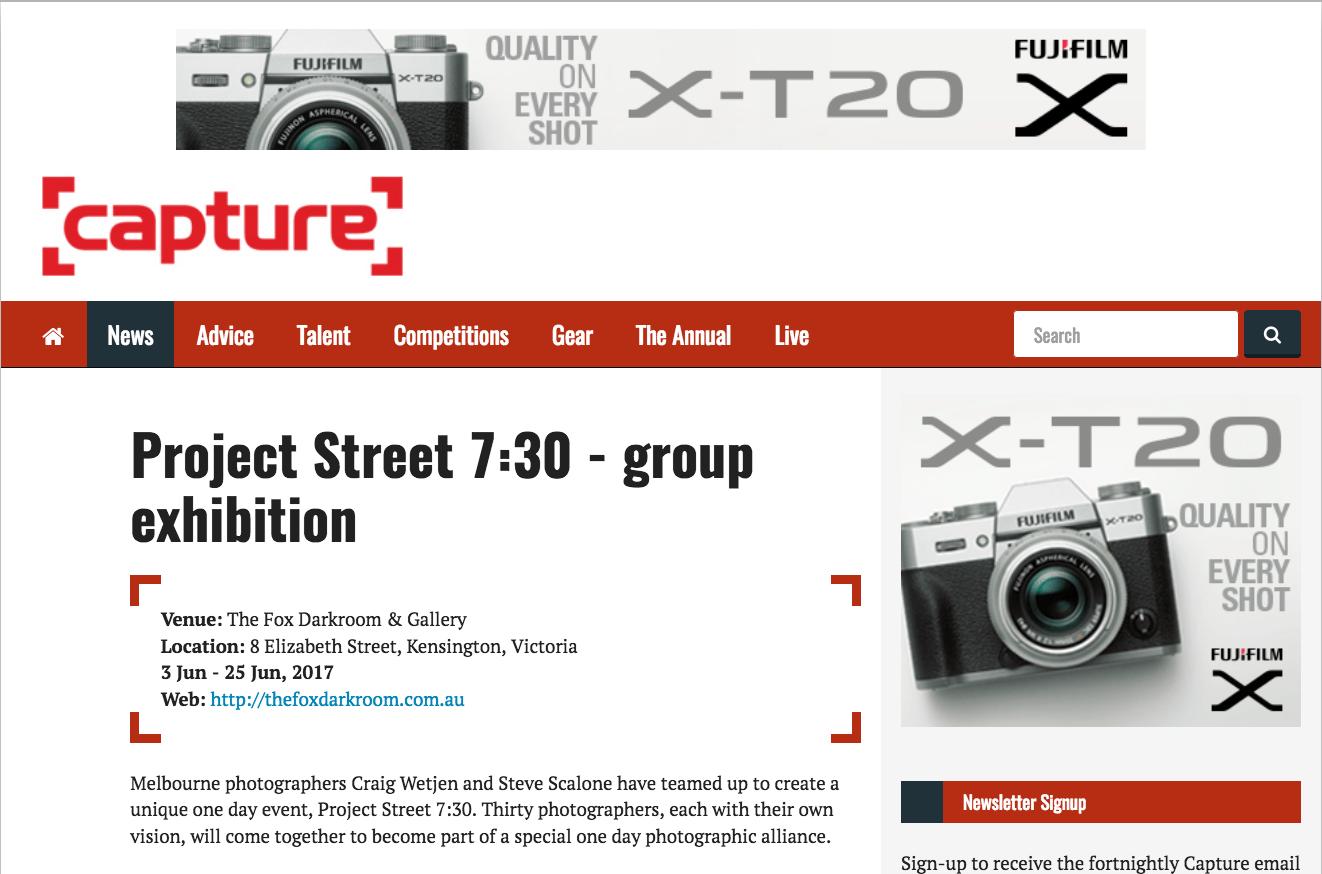 Alli Harper Project Street 7.30 Capture Magazine