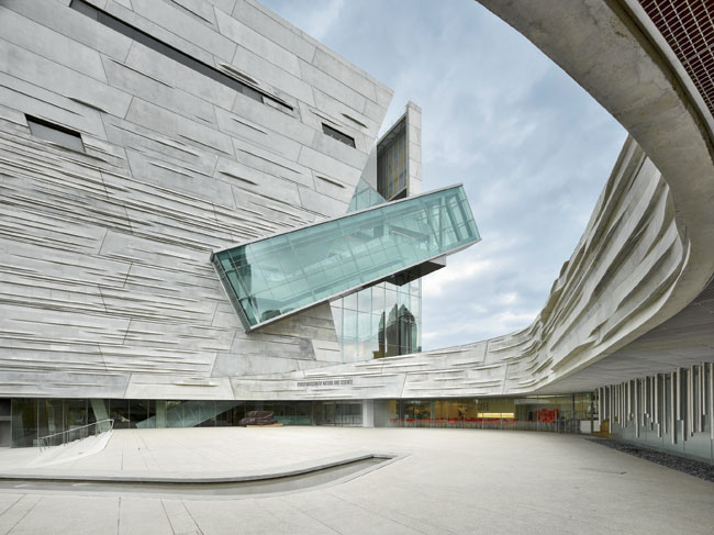 Designed By: Morphosis Architects - Perot Museum in Dallas, Texas