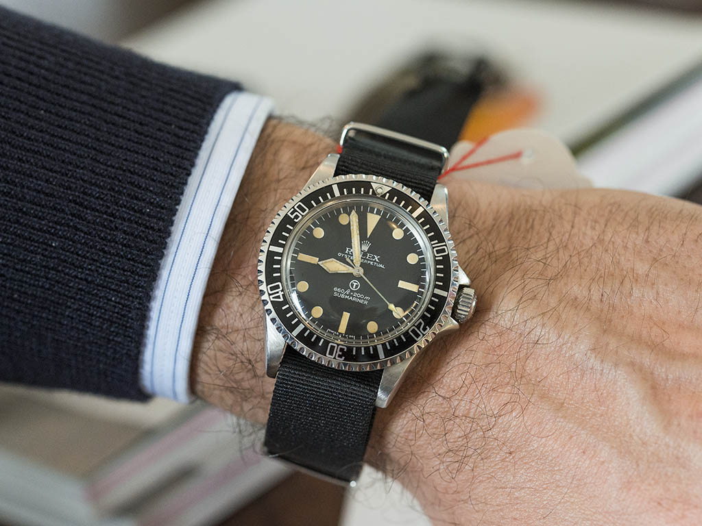 The Rolex Military Submariner \u2013 The Icon and its modern