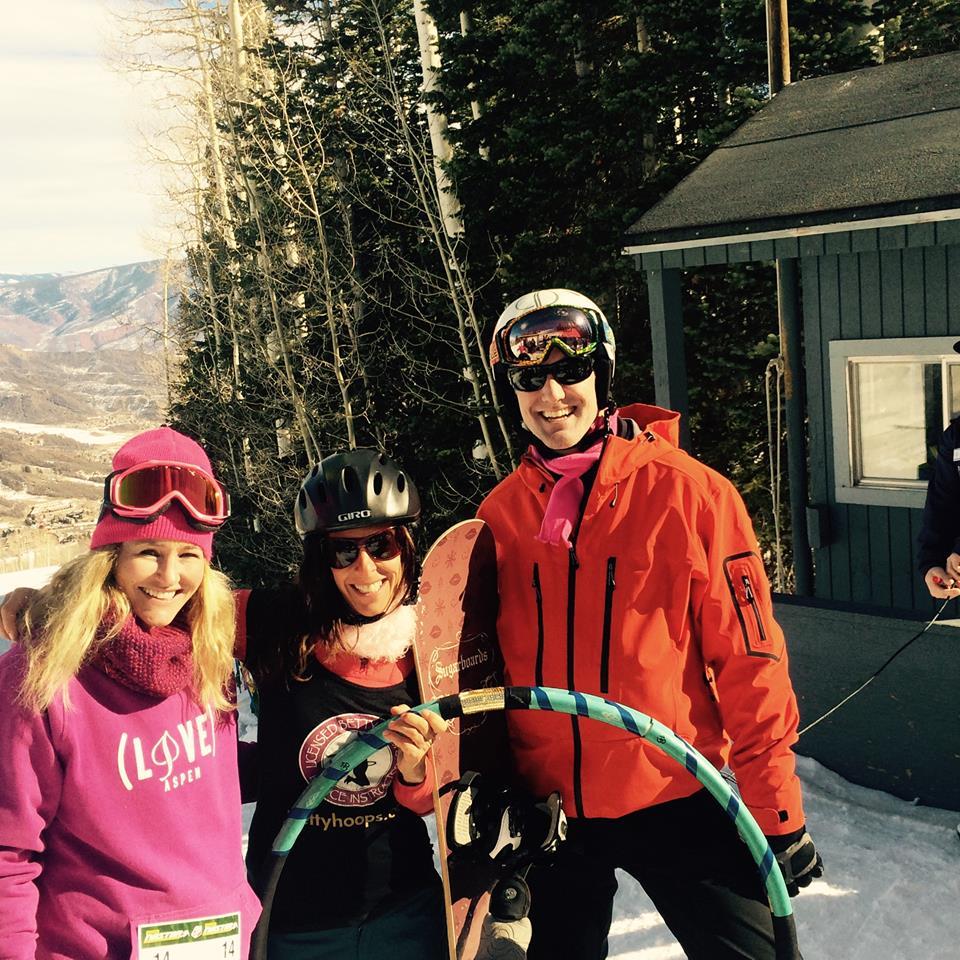 Olympian Gretchen Bleiler, Guinness World Record Holder Betty Hoops & Olympian Chris Klug
