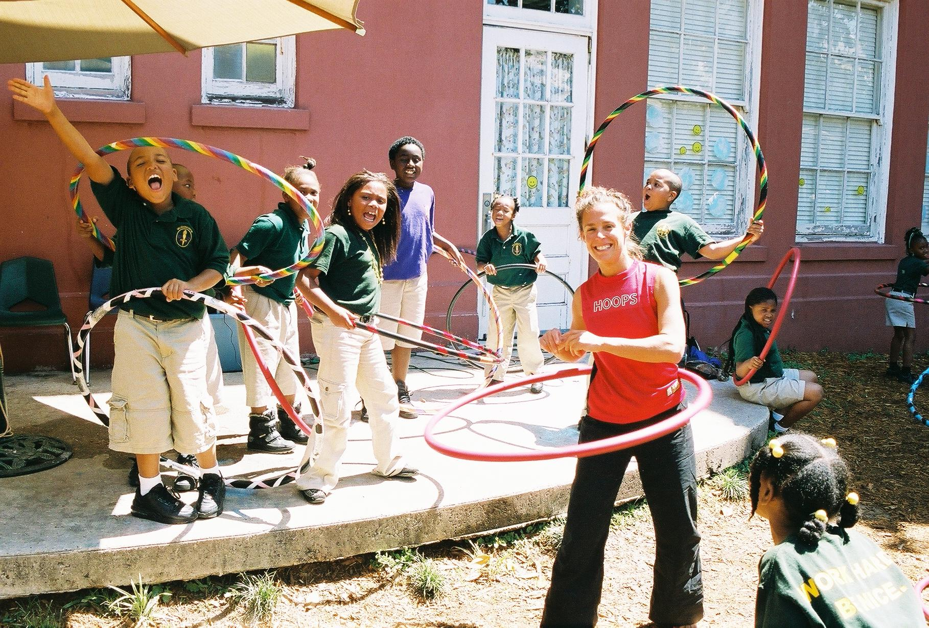 volunteer teaching in New Orleans