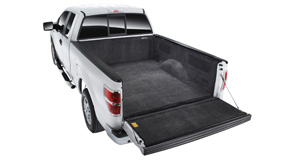 Great looking custom fit   Bedrug is custom formed to fit the contour and shape of the bed for a snug tight fit. The deck becomes smooth and flat. The Bedrug maintains the original shape and features of the ute deck and still has full access to any factory tie downs.