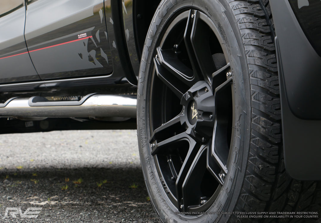 Mazda BT-50 - 20 inch Fang wheel with no inserts