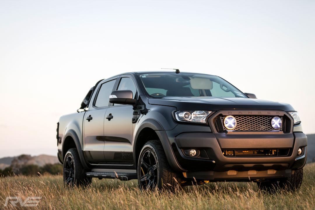 Ford Ranger XSV Stage 2 in 'Black Mica'.