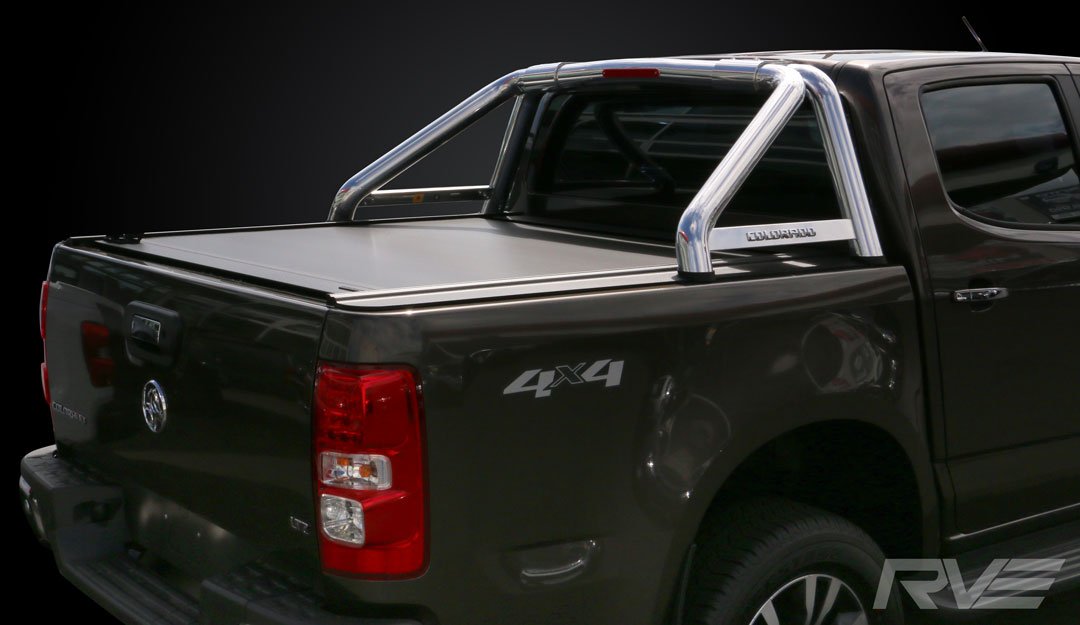 Holden Colorado with Factory Sports Bar and ROC Retractable Hard-lid