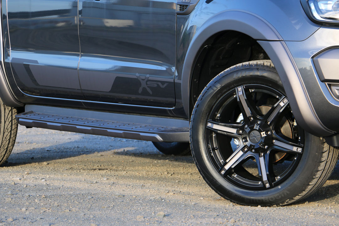 Ford Ranger XSV Stage 2 in 'Magnetic Grey'.