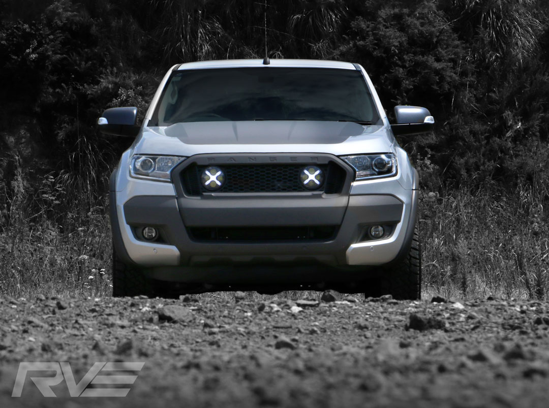 Ford Ranger XSV Stage 2 in 'Aluminium Metallic'.