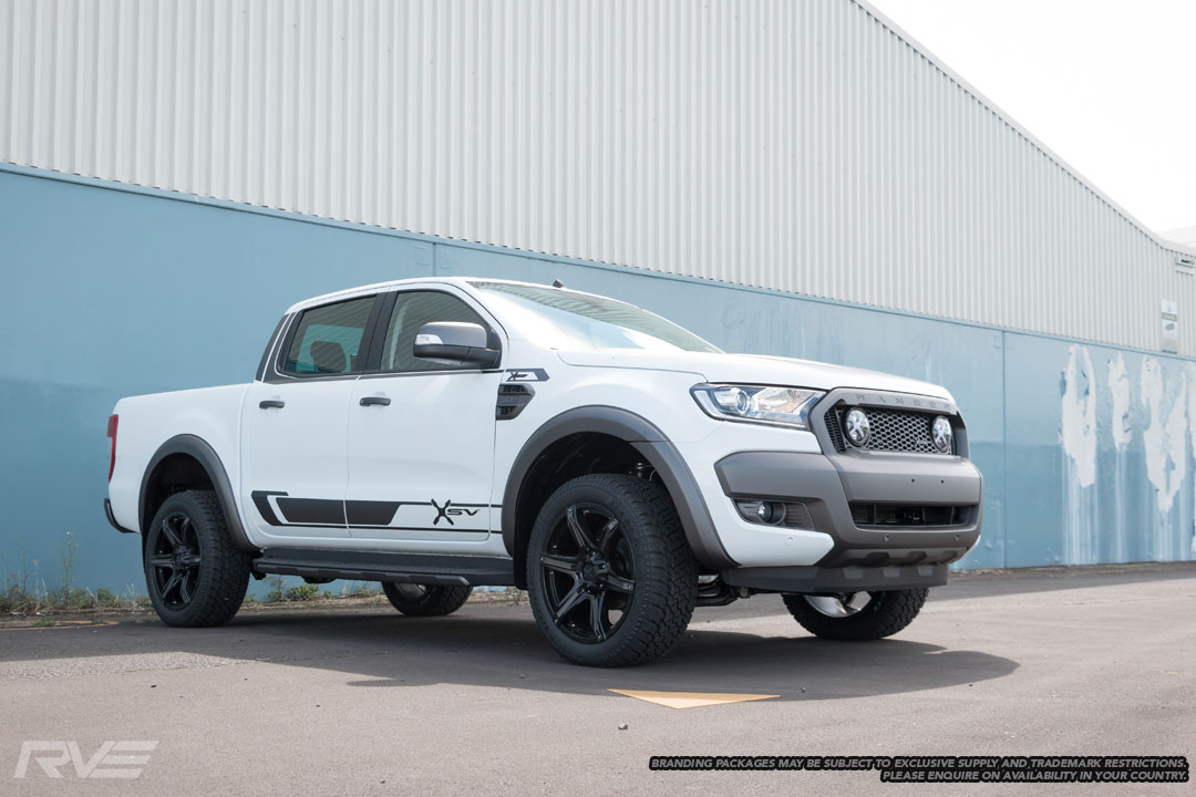 Ford Ranger XSV Stage 2 in 'Cool White'.
