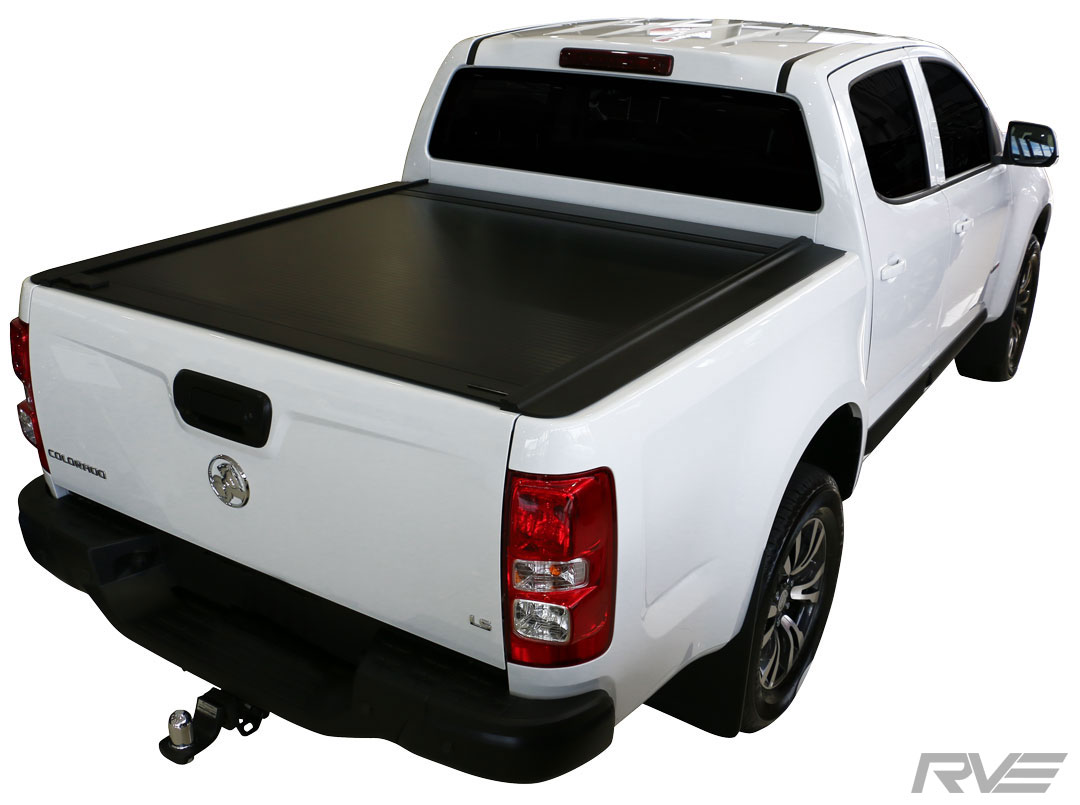 Holden Colorado - Retractable Hard-lid with no sports bar