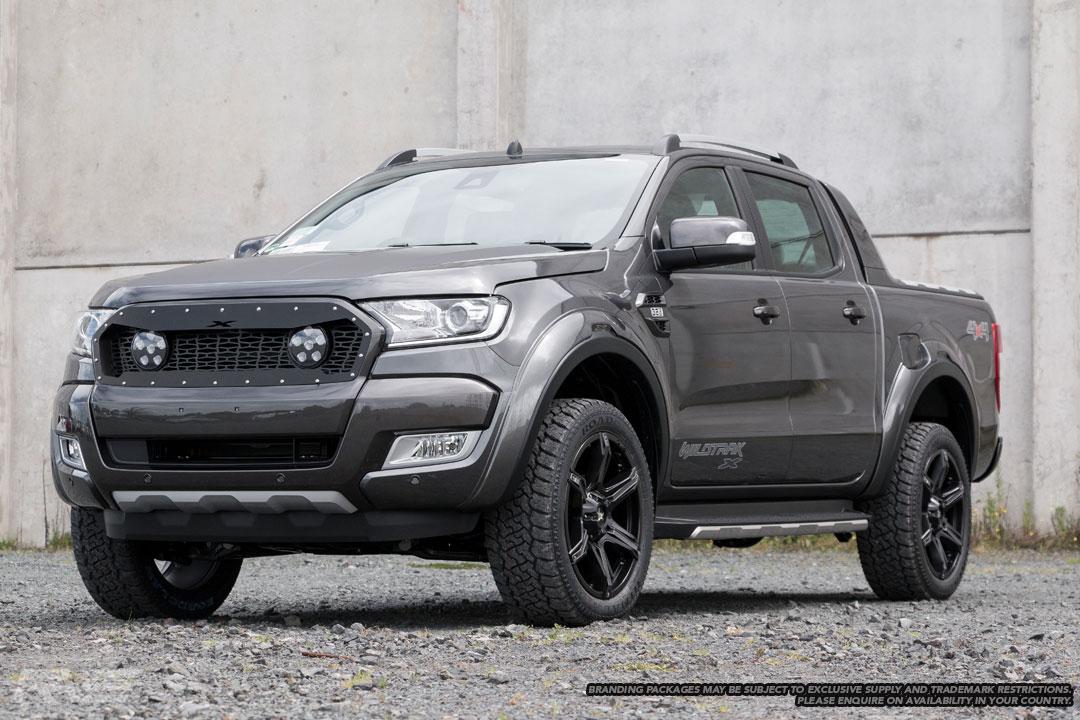 Ford Ranger Wildtrak X in magnetic grey.