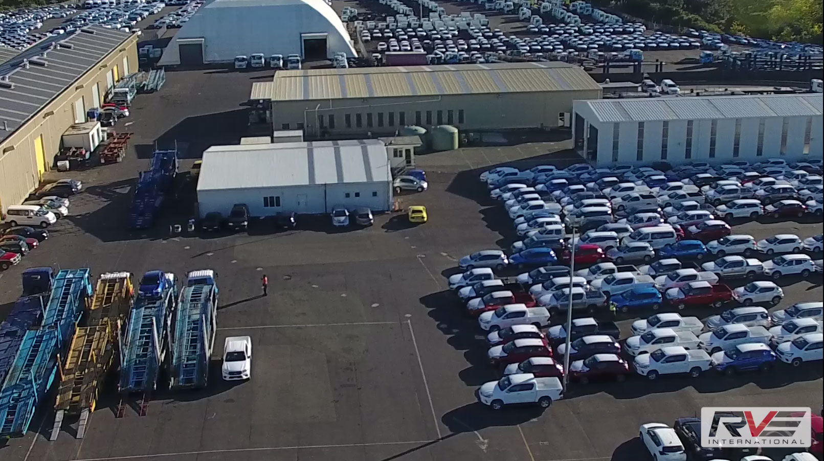 RVE International working in a distribution centre, Auckland, New Zealand.