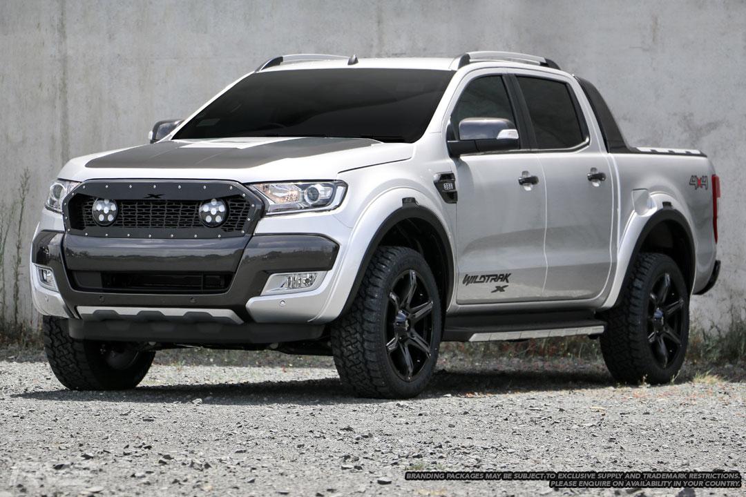 Ford Ranger Wildtrak X in 'Ingot Silver'