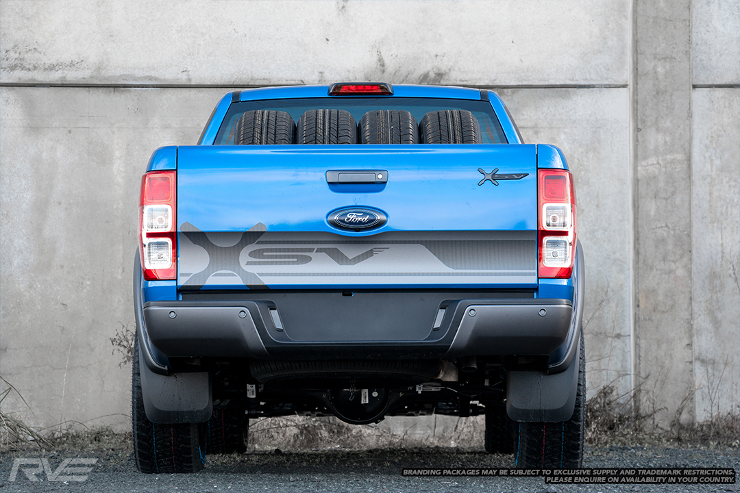 Ford Ranger XSV Stage 2 in 'Winning Blue'.
