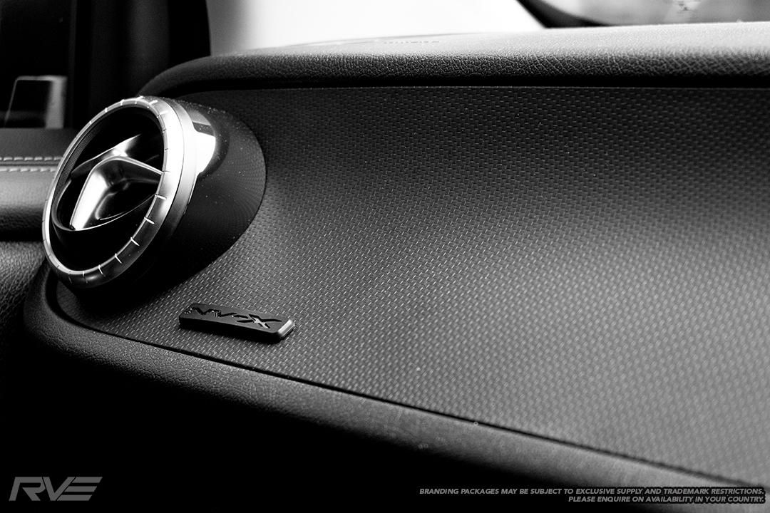 Interior NV-X branding