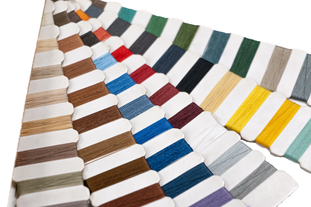 Stitching colour range