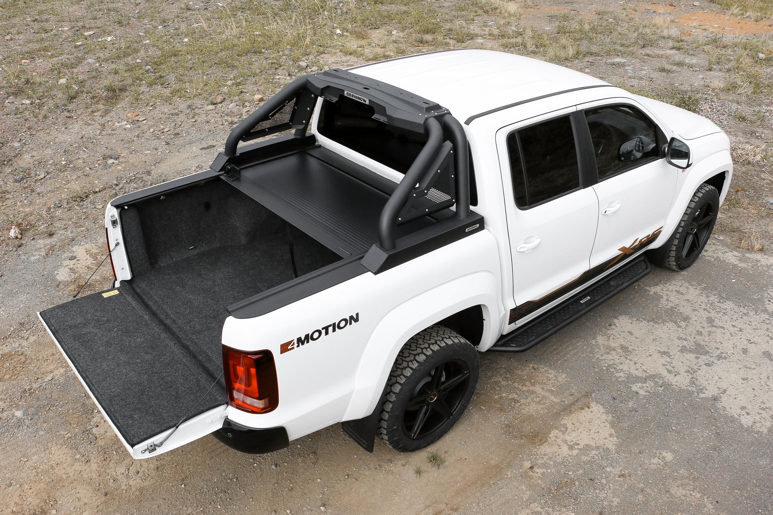 2019 VW Amarok with X-RS package, rear tray pack (without lights) and sports pack