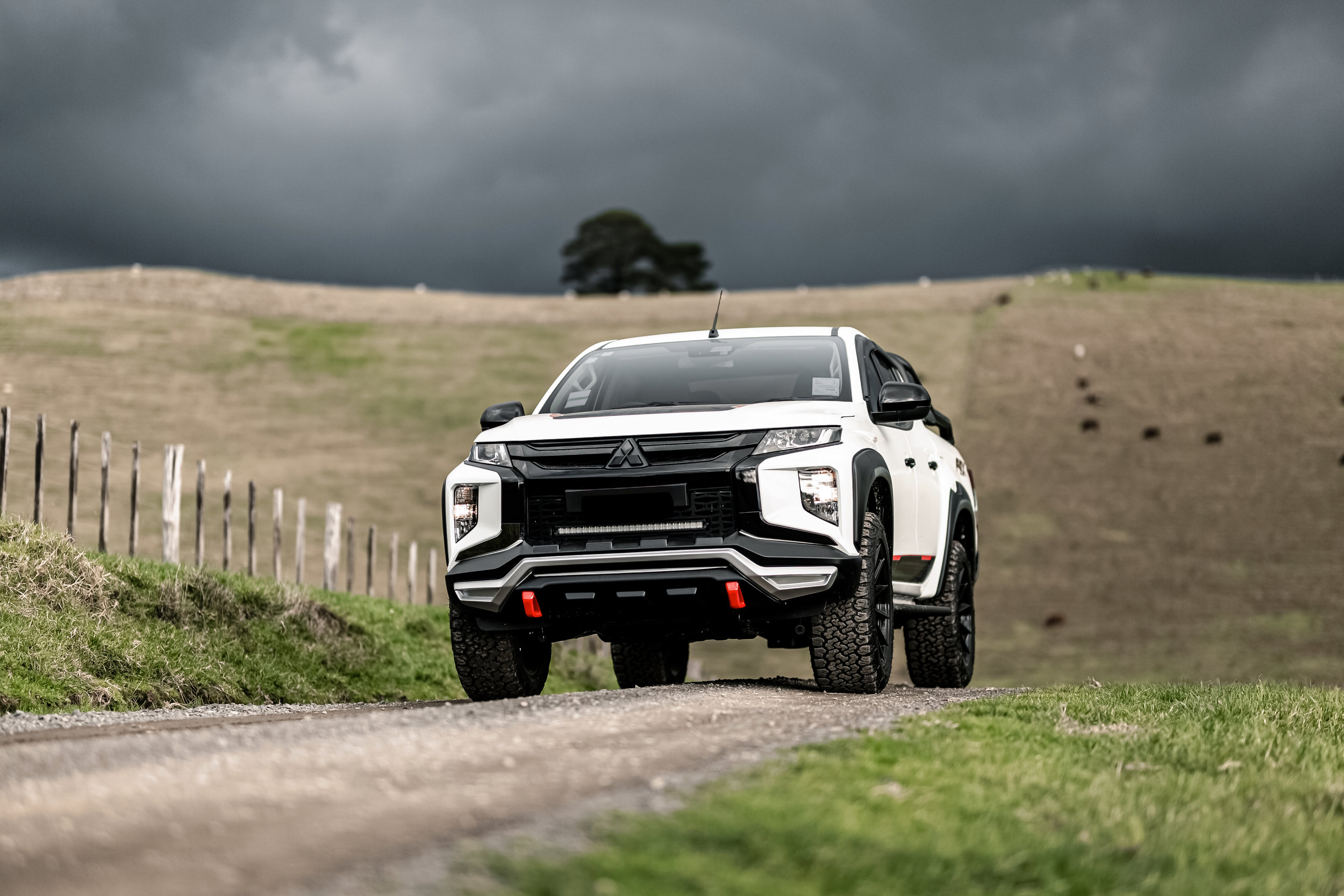 Mitsubishi Triton with the FRX package.