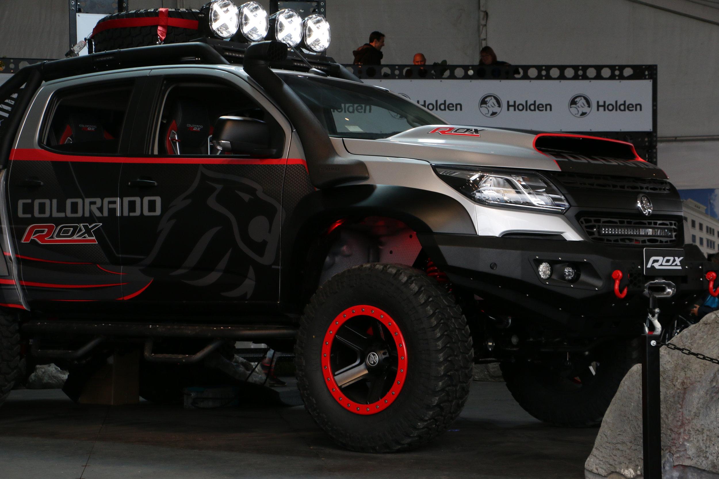Holden Colorado Rox Concept vehicle