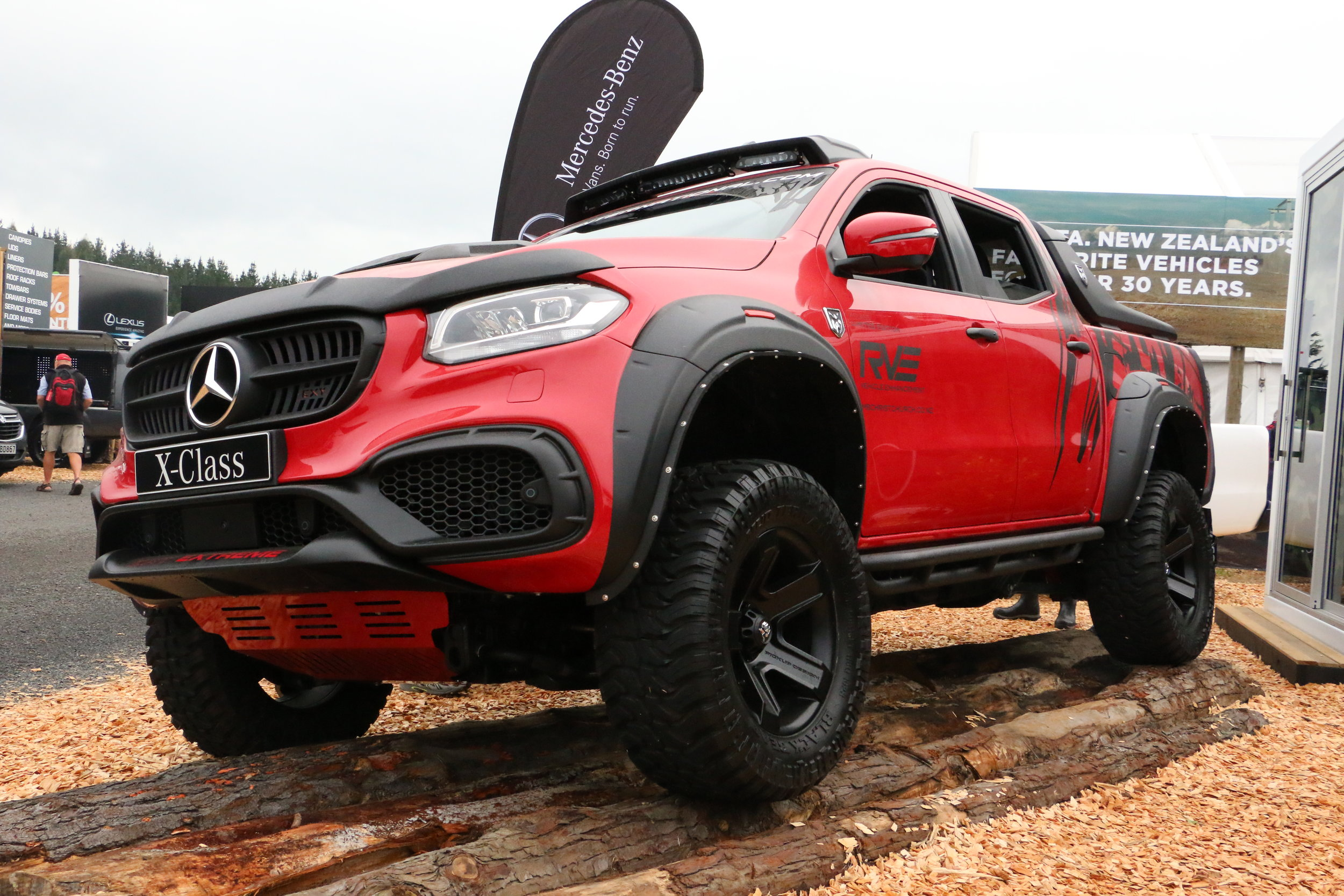 Mercedes Benz X-Class Exy Extreme