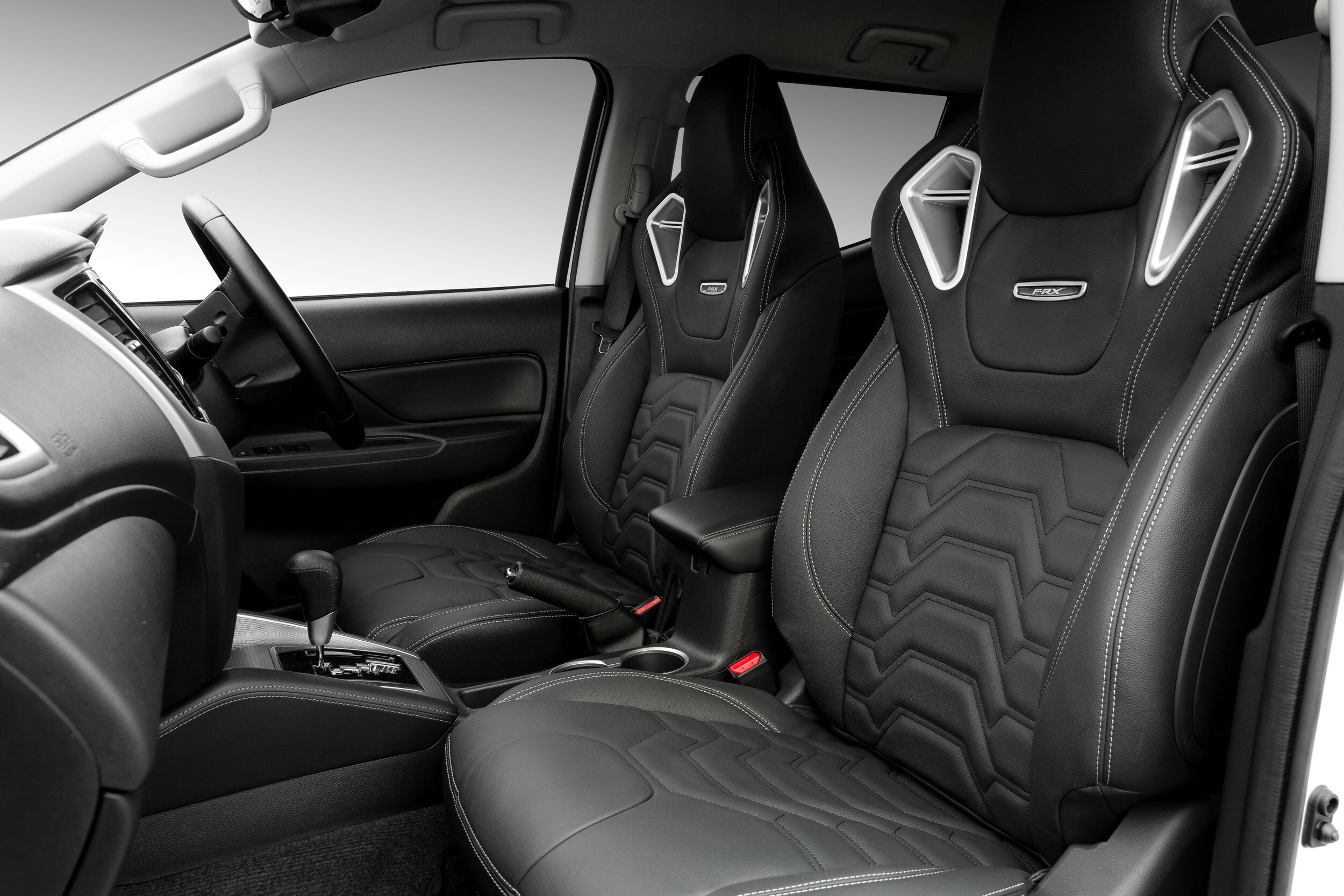 Upgraded Leather interior with RVE Monza Sport Seating